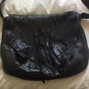 Vintage 80s Pieced Leather Purse